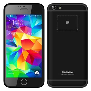 Blackview Мобильный телефон  Ultra A6 Black (Dual Sim) 3G 8GB
