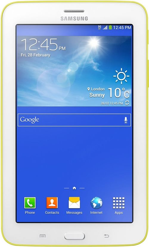 Samsung Планшет  T111 Galaxy Tab3 7.0 Lite 3G 8Gb/ YELLOW RU