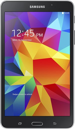 Samsung Планшет  T230 Galaxy Tab4 7.0 Wi-Fi/ BLACK RU