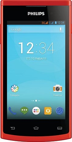 Philips S308 Android XENIUM RED Dual Sim