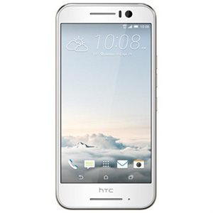 HTC One S9 Gold on Silver