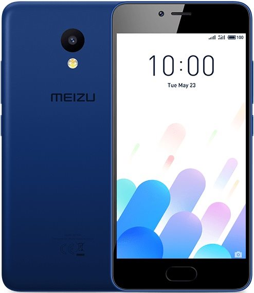 MeiZu M5C 2/16Gb Dual Blue