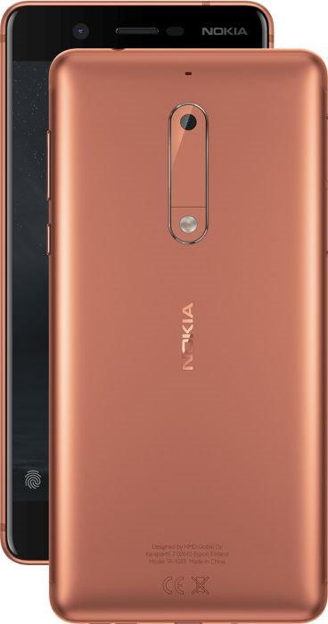 Nokia 5 Duos Brown