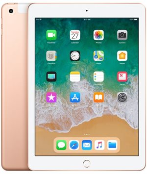 "Apple IPAD 9.7"" (2018) 32GB 4G Gold"