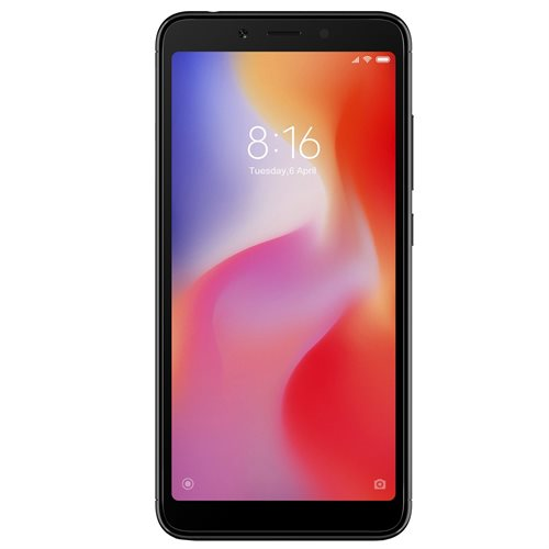 Xiaomi Redmi 6 32GB Dual Black