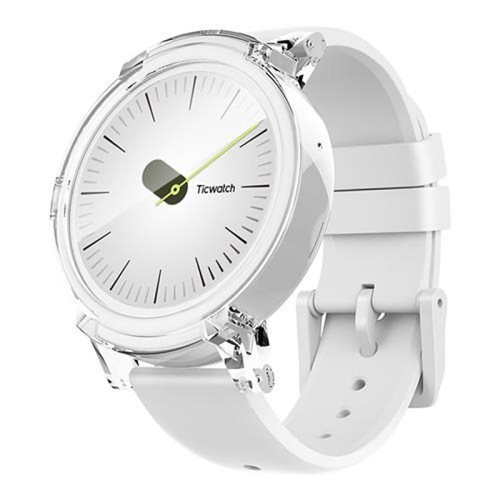 Ticwatch E by Mobvoi Ice White