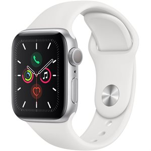 Apple Watch Series 5 GPS 40mm MWV62 Silver