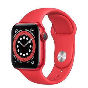 Apple Watch Series 6 GPS 40mm M00A3 Red
