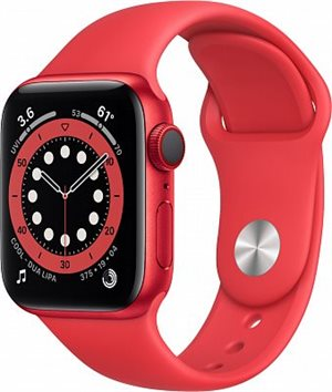Apple Watch Series 6 GPS 44mm M00M3 Red