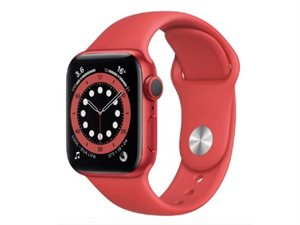 Apple Watch Series 6 GPS + LTE 40mm M06R3 Red