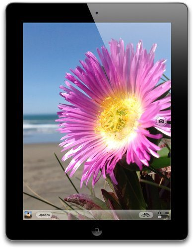 Apple Планшет  iPad 4 Wi-Fi 4G 16Gb Black