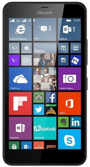 Microsoft Lumia 640 XL 3G Dual Sim 8Gb Black
