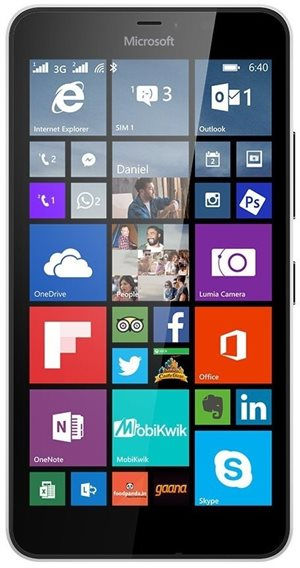 Microsoft Lumia 640 XL 3G Dual Sim 8Gb White